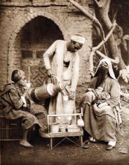 Venditore di caffè - Cairo, 1933