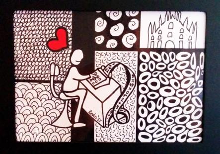 Colorminazione illustrata - Pannello - step 2