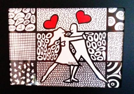 Colorminazione illustrata - Pannello - step 3