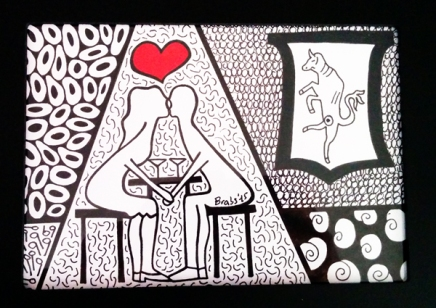 Colorminazione illustrata - Pannello - step 4