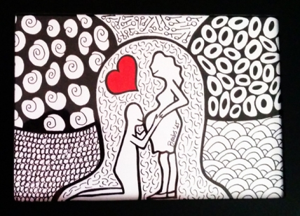 Colorminazione illustrata - Pannello - step 5