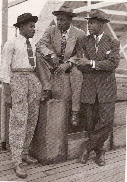 Uomini eleganti nel 1948