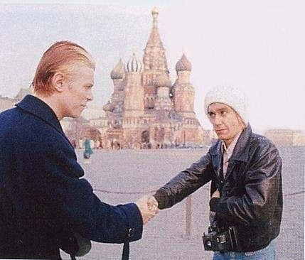 David Bowie e Iggy Pop