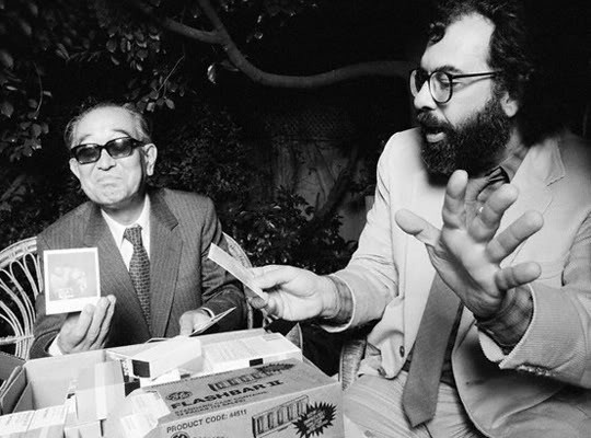 Francis Ford Coppola e Akira Kurosawa