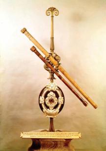 I primi telescopi di Galileo. 17 ° secolo, presso l'Istituto e Museo di Storia della Scienza, Firenze