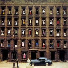 """Girls in the Window"" di Ormond Gigli, 1960"