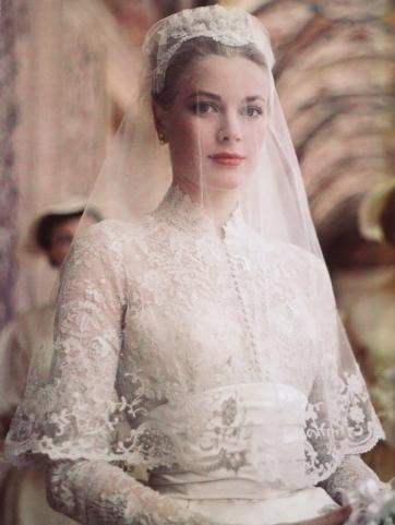 Grace Kelly il giorno delle nozze, Monaco, aprile 1956