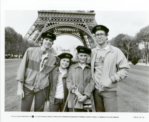 La famiglia Griswold di fronte alla Torre Eiffel, 1985