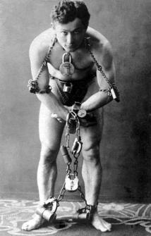 Harry Houdini, all'età di 25 anni, 1899