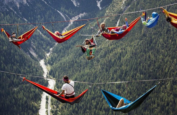 Highline Meeting Monte Piana