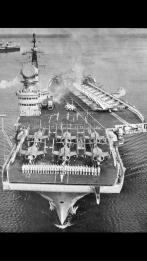 L'HMS Victorius durante gli anni sessanta