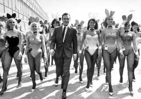 Hugh e le conigliette, Playboy 1950