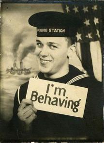I'm behaving