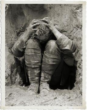Foto iconica della prima guerra mondiale