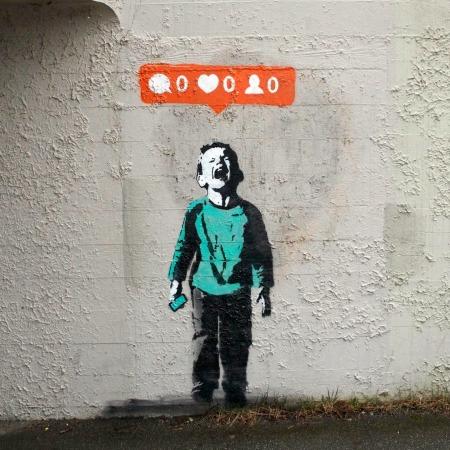 iHeart Stencil
