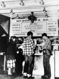 Il primo McDonald's, nel 1948