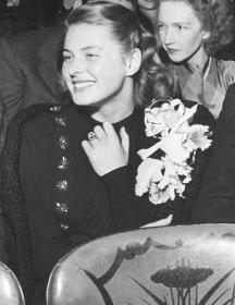 Ingrid Bergman agli Academy Awards nel 1945