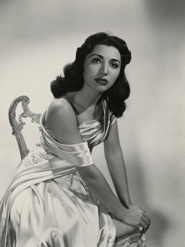 Principessa iraniana Fatimeh Pahlavi, 1950