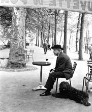 Jacques Prévert. Foto di Doisneau
