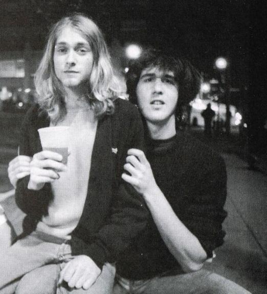 Kurt Cobain e Krist Novoselic, 1988