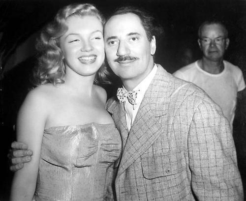 Marilyn Monroe e Groucho Marx, 1949