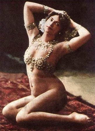 Mata Hari, ballerina e spia a Parigi - c.1910