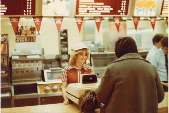 McDonalds negli anni 80