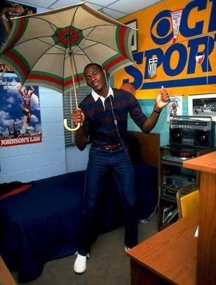 Michael Jordan in College