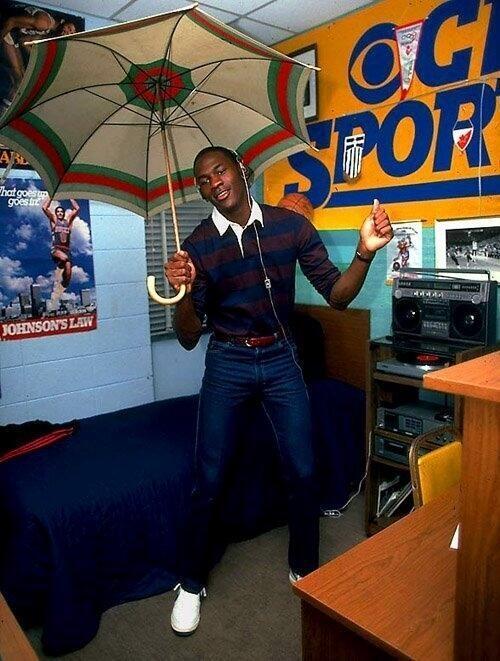 Michael Jordan in College