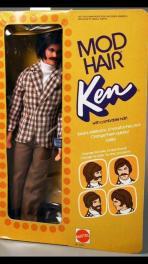Mod Hair Ken Doll,1972