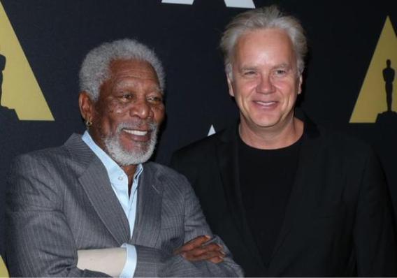 """Morgan Freeman e Tim Robbins insieme per il 20° anniversario di """"Le ali della libertà"""""""