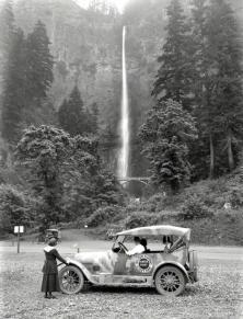 Le cascate di Multnomah, Oregon 1918