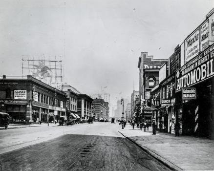 New York. Broadway e 49th Street 1909