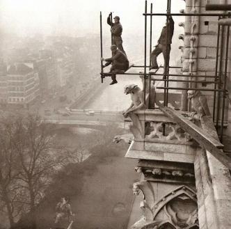 Notre-Dame, Parigi, 1952