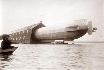 Parcheggio dello Zeppelin
