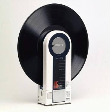 Giradischi portatile, 1982