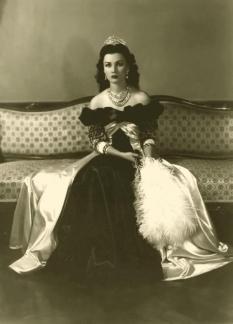 Principessa Fawzia d'Egitto, 1940