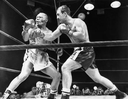 Rocky Marciano combatte Jersey Joe Walcott - Stadio Comunale, Philadelphia, 23 settembre 1952
