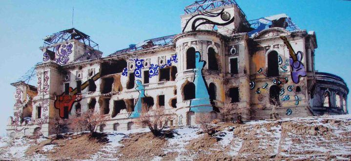 Shamsia Hassani – Dream of Graffiti – Darulaman Palace