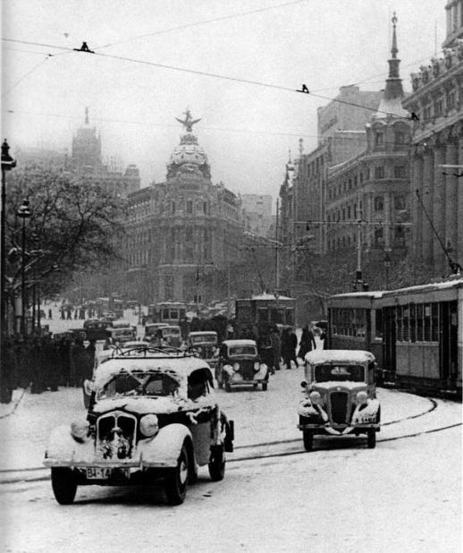 Spagna, Madrid 1945