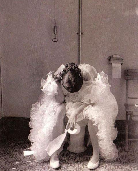 La sposa - Foto di autore sconosciuto