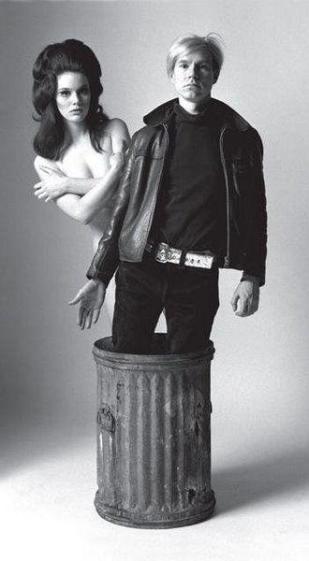 Susan Bottomly e Andy Warhol