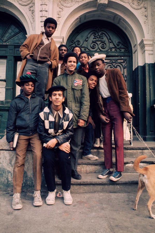 Adolescenti in New York City South Bronx, 1970