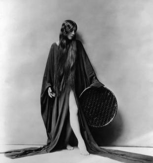 L'attrice Olive Ann Alcorn - 1925