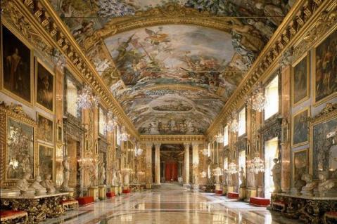 La sala da ballo di Palazzo Colonna, Roma - Italia