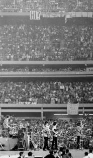 The Beatles allo Shea Stadium, New York, 1965