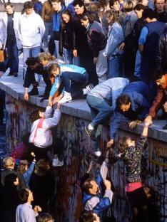 La caduta del muro di Berlino, 1989