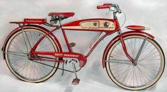 La Huffy Radio Bike, 1955