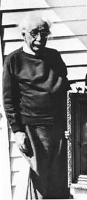 L'ultima immagine nota di Albert Einstein, fatta nel marzo 1955