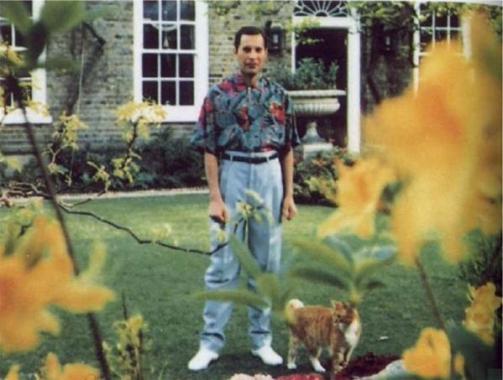 L'ultima foto scattata di Freddy Mercury, circa 1991